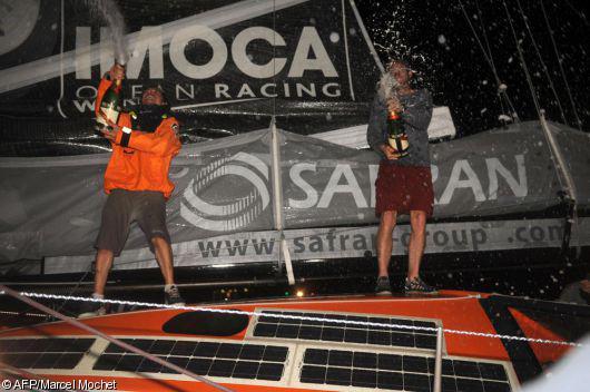 ... la Transat Jacques Vabre tient enfin ses deux vainqueurs de classe ...