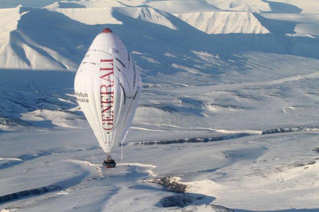 """... en """"ballon"""" … Capsicum parlait déjà de Total Pole Airship …"""
